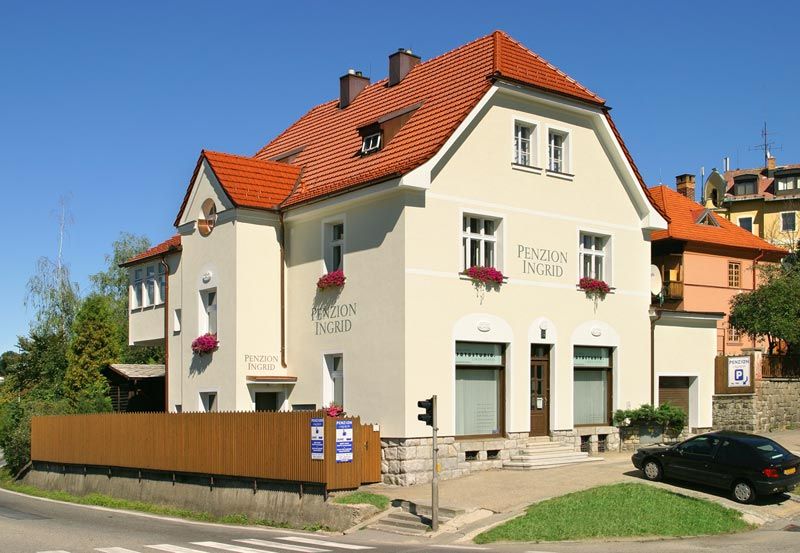Accommodation Bed Breakfast Ingrid Český Krumlov: pension in Cesky Krumlov - Pensionhotel - Guesthouses