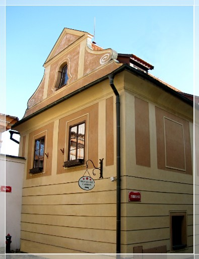 Pension Monastery Garden accommodation Czech Krumlov: pension in Cesky Krumlov - Pensionhotel - Guesthouses
