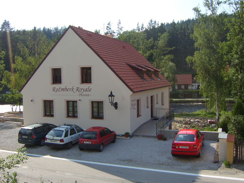 Accommodation Bed Breakfast Royale, Rožmberk nad Vltavou: pension in Rozmberk nad Vltavou - Pensionhotel - Guesthouses